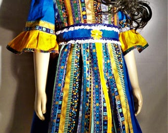 native design girls dress
