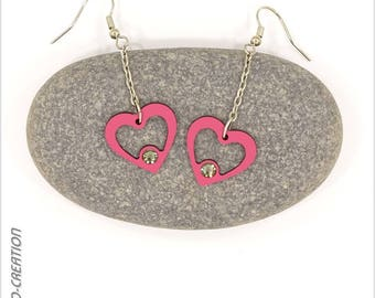 """Earrings collection """"SYL ' heart"""""""
