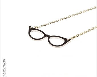 """Necklace """"Vintage"""" (small model) sunglasses"""