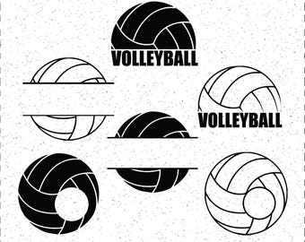Volleyball SVGs, Volleyball SVG, Volleyball Ball SVG, Volleyball Balls, Volleyball SVGs, SVGs, Cricut Cut File, Silhouette File