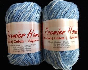 Premier Home Cotton Yarn Raindrop Splash