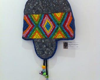 """Mosaic """"Chullo"""" Beanie"""