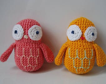 Hand crocheted OWL