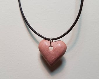 Heart Shaped Aromatherapy Pendant Necklace for Essential Oils w/ 1/4 Dram Oil Sample