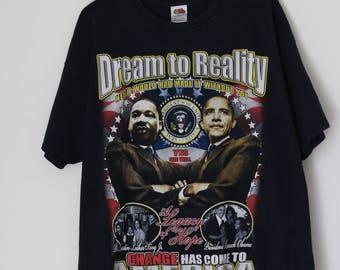 2008 Barack Obama 44th President T-shirt, 2xl