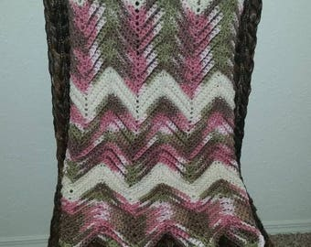 Beautiful Gender Neautral Baby Afghan