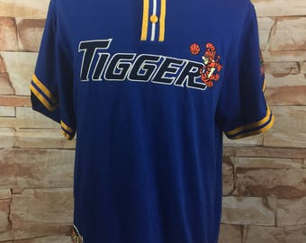 Vintage Disney Store Tigger Dunking Space Jam Basketball Jersey