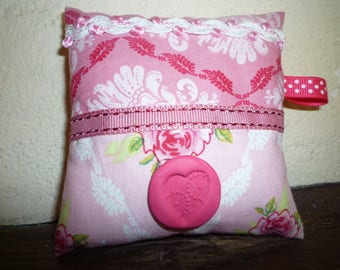 Mini pink floral patchwork cousin