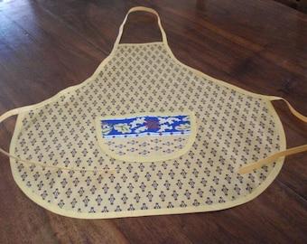 Yellow apron