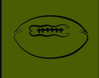 Football svg files Football svg Football Ball svg File svg Football cut file Football Iogo Football vector, 4x4 inches, Football stitches