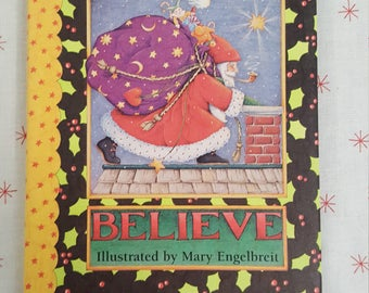 Mary Engelbreit BELIEVE Christmas Book