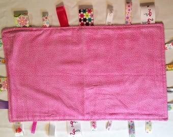 Snuggie Blankie, Baby or Toddler Cuddle Baby Blanket or Fidget Blanket