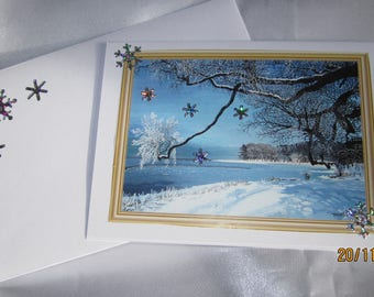 Card for Christmas or new year