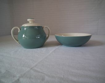 Royal Daulton Sugar Dish & Bowl