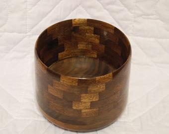 wooden walnut and mahogany bowl various sizes