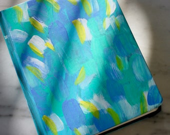 Abstract Brush Stroke ESV Painted Bible