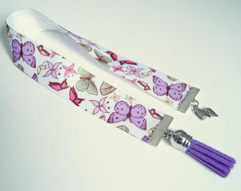 Bookmark Ribbon - butterflies