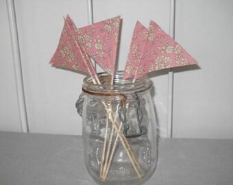 Pink Liberty capel decoration flags