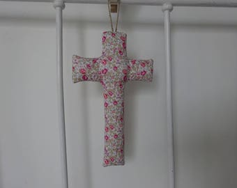 Cross liberty eloise pink, nursery decor