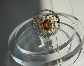 Victorian Large Brooche