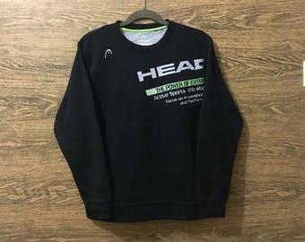 Sale Rare Head sweatshirt/Big print logo/Nice design/Size on tag Large.