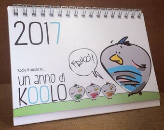 KOOLO 2017 calendar ' ONE YEAR ' of ' the Roofs ® '.