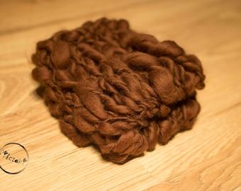 chunky brown blanket