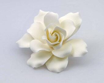 Belmont Gardenia Sugar flower wedding birthday cake decoration