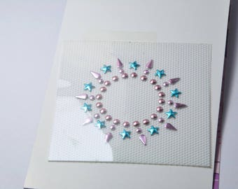 TH12 - Motif round nails fusible