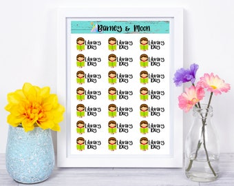 Library Day | Planner Stickers