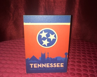 "Wood - Tennessee Wood Sign 4""x6"""