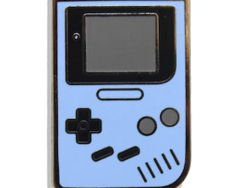 Game Boy Blue Hard Enamel Pin