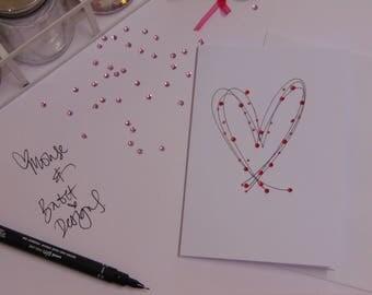 Handmade Love/Admiration Card