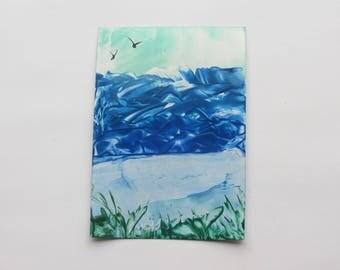 New Beginnings: Encaustic Art Painting