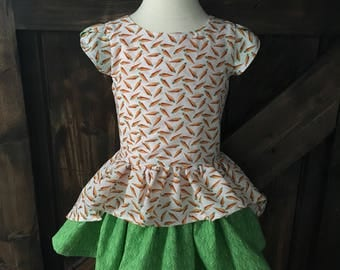 Girls Hi-Low Easter Dress Size 3