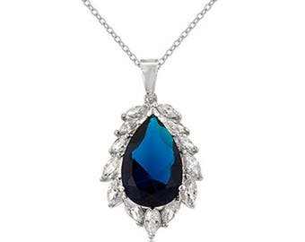 Royal Sapphire Necklace