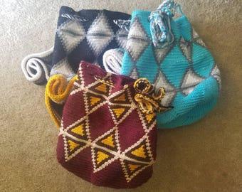 Wayuu Style Crochet Bag