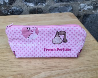 Adorable clutch can be used for makeup fdpc