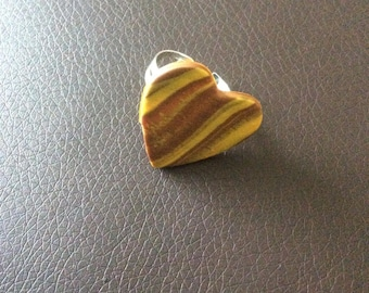 Ring heart marbling for various occasions!