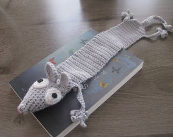 Bookmark crochet mouse
