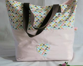 Handbag, Shopping bag, for the beach, the swimming-pool, for high-school or the college