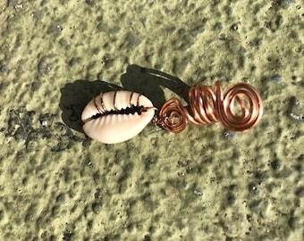 Cowrie Shell Loc Jewelry