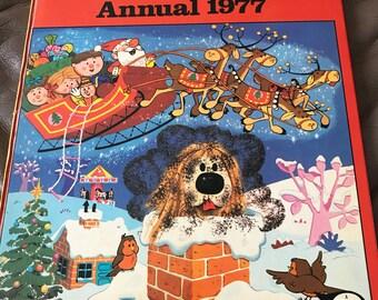 Magic Roundabout Annual, 1977 Annual, Vintage Annual, Magic Roundabout