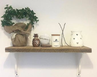 Handmade Scandi Vintage Wooden Shelves