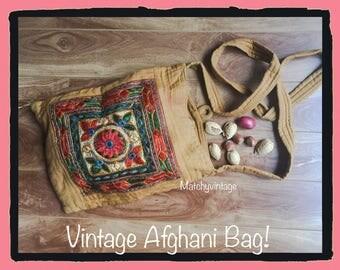 FREE SHIPPING | Bohemian Bag | Boho Crossbody | Retro Hippie Purse | 70s Ethnic Handbag