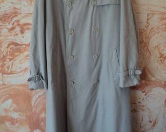 Warmed men's raincoat 48-50 r