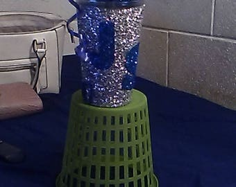 Customized Blinged Out GLITTER Tumbler