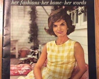 Jacqueline Kennedy souvenir edition 1/1/61 Kable News Co