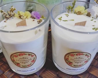 Handmade Aroma Soy candle - Gift for her- Gift for him- Natural candle