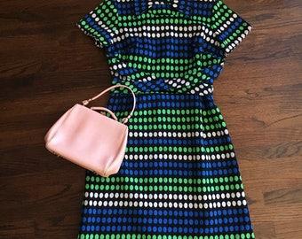 Vintage 1960's Polka Dot Dress